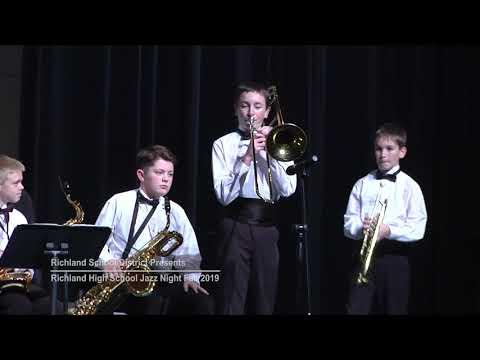 RHS Jazz Night 11 26 2019 - LIBBY MIDDLE SCHOOL - Blues Machine