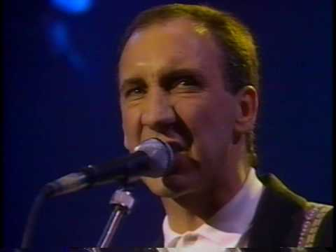 PETE TOWNSHEND'S  DEEP END LIVE 11-1-85 BRIXTON ACADEMY, LONDON  45M PT 1 OF 2 W MITSU VCR