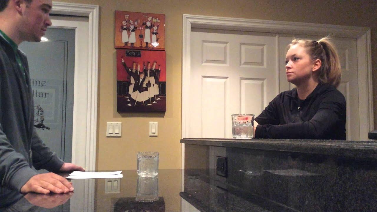 interview waitress interview waitress