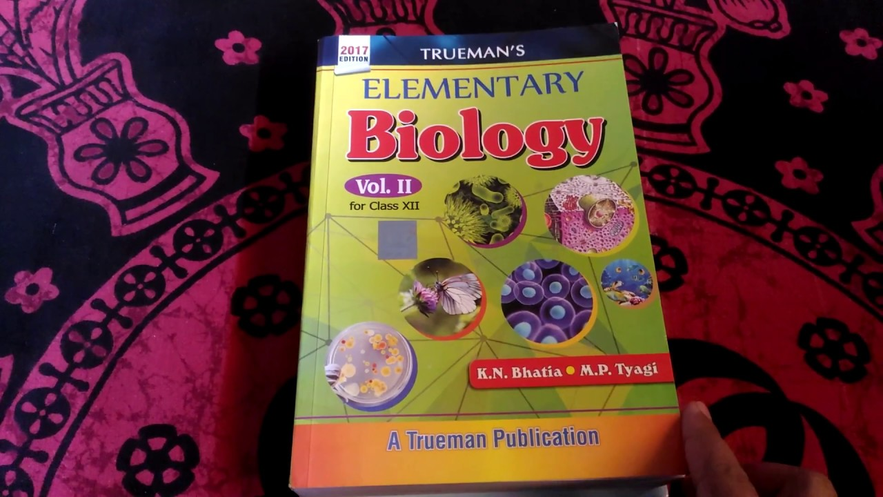 Truemans Biology Book Pdf