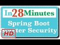 [Spring Boot Tutorial] Spring Boot Starter Security - Secure Your Rest Services And Web Applications