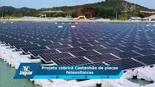 Projeto cobrirá Castanhão de placas fotovoltaicas