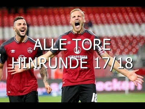 Alle Tore 1.FC Nürnberg Hinrunde 2017/18