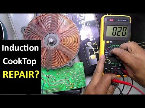 How To Repair Dead Induction Cooktop (Bajaj Popular Ace)
