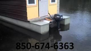 Redneck Houseboat Design - Watch Updated Video.