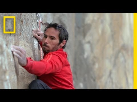 World's Hardest Climbing Goal of Yosemite Wall Climber