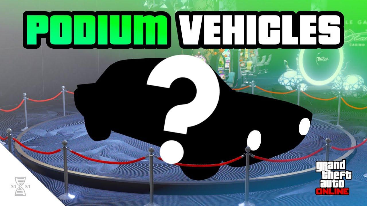 NEW Upcoming Casino Podium Vehicles & Prize Ride! (GTA Online)