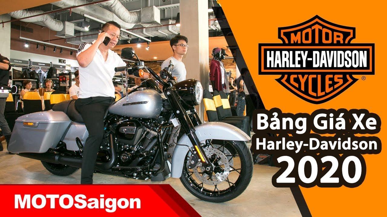 Bảng giá xe Harley-Davidson 2020 soi chi tiết đánh giá ngoại hình