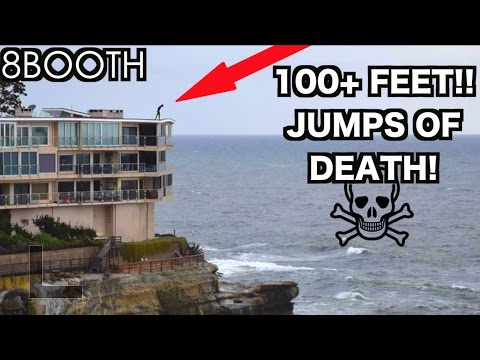 GUY ALMOST DIES CLIFF JUMPING 100 FEET!!! MUST WATCH