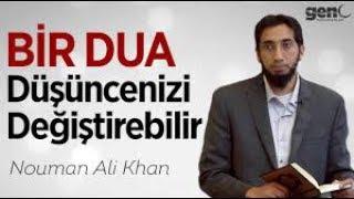 Bir Dua Düşüncelerinizi Değiştirebilir – Nouman Ali Khan [Türkçe Altyazılı]