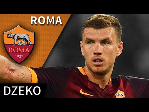 Edin Dzeko • Roma • Magic Skills, Passes & Goals • HD 720p