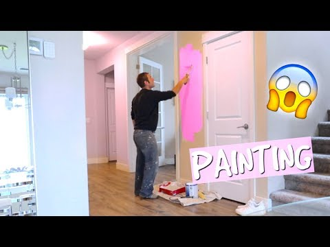 PAINTING MY HOUSE!!