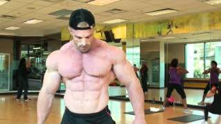 Lean Ripped Muscle Man Posing Bodybuilding Shredded Constantinos Demetriou