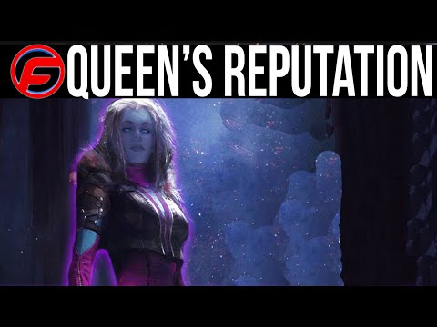 Destiny how to level up the queens reputation fast queens wrath