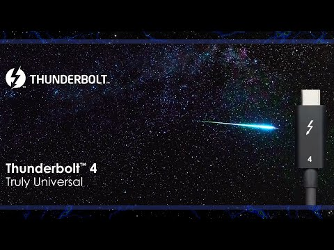 Thunderbolt™ 4 Preview – The Truly Universal Cable Connectivity Solution