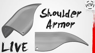 Designing A Shoulder Armor Scale