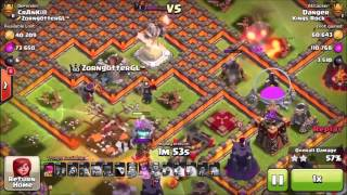 BROTHER & SISTER TAG TEAM!!! Are they related! - Clash Of Clans - Source Godson