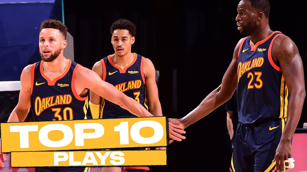 Download Top 10 Golden State Warriors Plays of The Year! (Steph Curry, James Wiseman, & More) 🔥