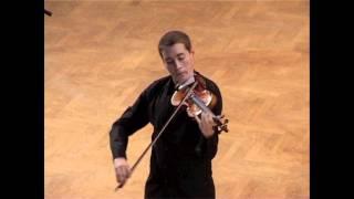 J. S. Bach: Sonata for solo violin in C Major, 4th mov.: Allegro assai (Kristóf Baráti)