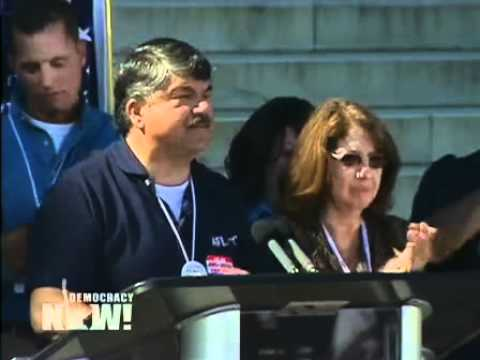 """Voices From the """"One Nation Working Together"""" Rally for Jobs and Justice 2 of 2"""