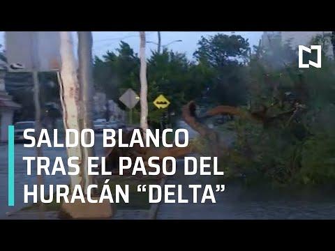 Saldo blanco tras paso de 'Delta': vocero del Gobierno de Quintana Roo - Expreso de la Mañana