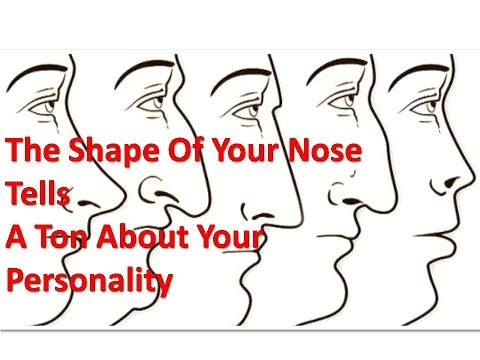 The Shape of Your Nose Tells  a Ton About Your Personality