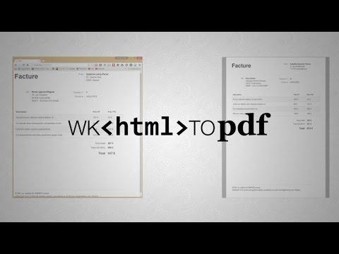 Tutoriel PHP : Générer Des PDF Avec WKHTMLtoPDF