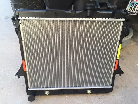 Replacing Radiator on Hummer H3 and H3t