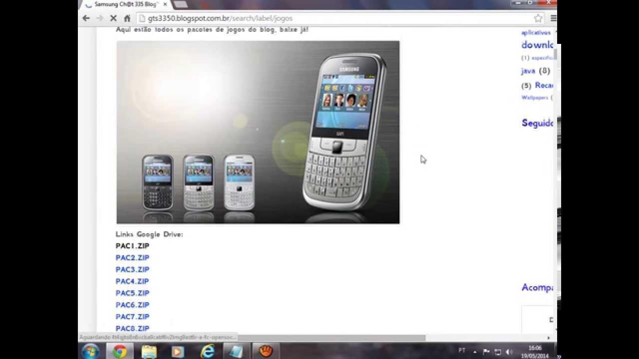 jogos para celular samsung gt s3350