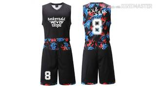 Top 10 beautiful basketball jersey