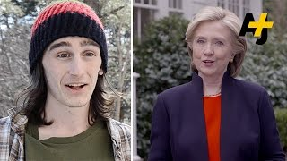 Young People React To Hillary Clinton Running For President