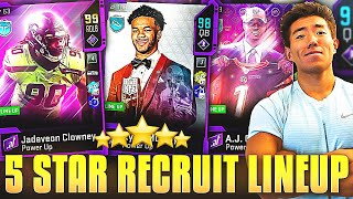 ONE '5 STAR RECRUIT' PLAYER ON EVERY NFL TEAM! Madden 20 Ultimate Team