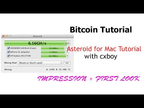 Asteroid For Mac Tutorial | Bitcoin Weekly Show