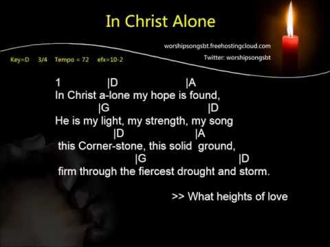 In Christ Alone K