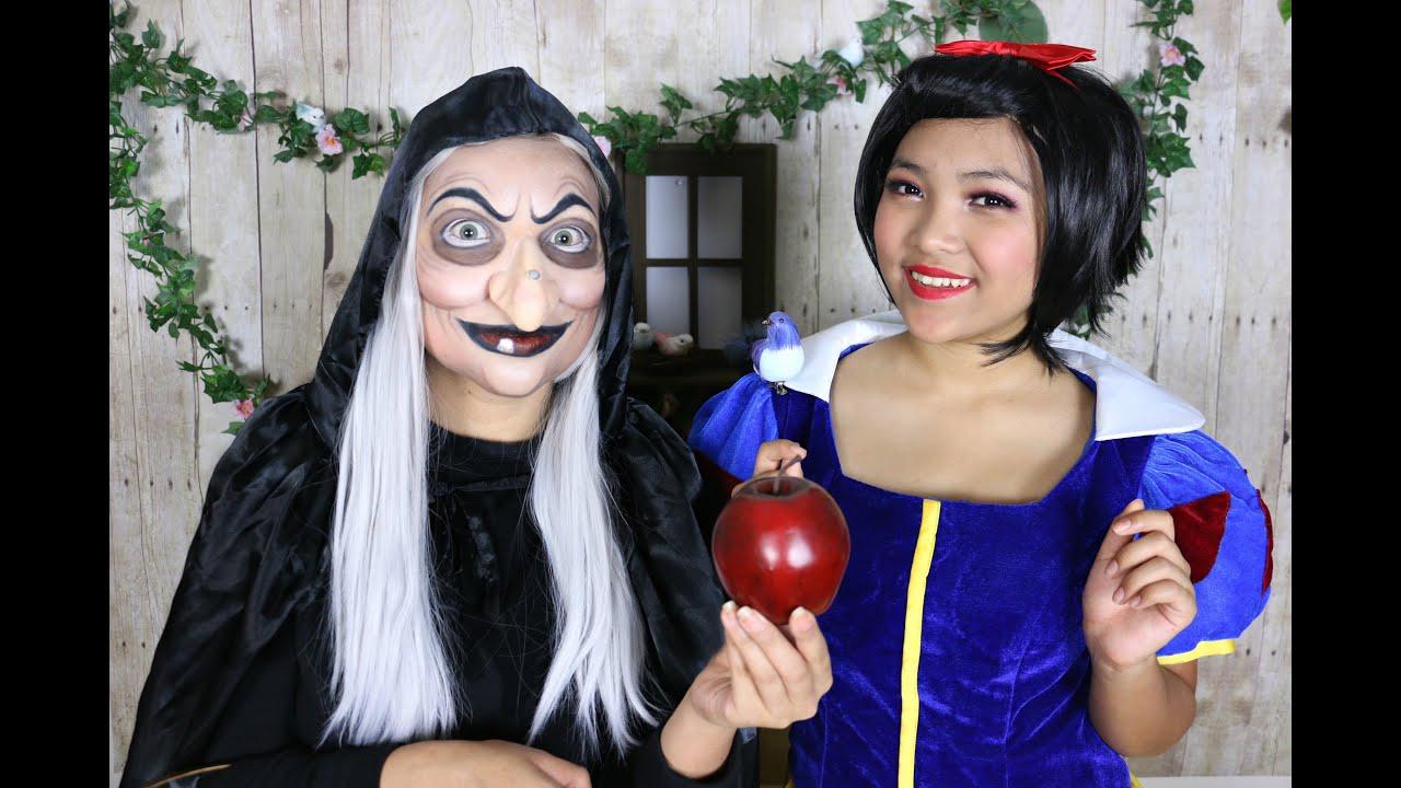 snow white witch makeup tutorial youtube