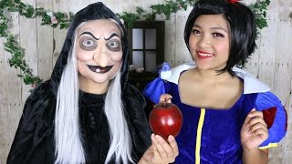 snow white witch makeup tutorial