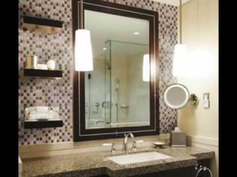 Bathroom vanity backsplash ideas - YouTube