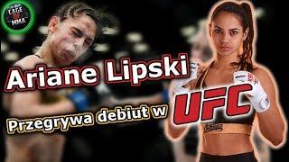 Ariane Lipski przegrywa debiut w UFC