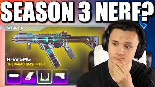 IS THE R-99 NEXT TO GET NERFED... - PS4 APEX LEGENDS!