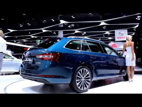 2015 skoda superb combi 2015 frankfurt iaa youtube. Black Bedroom Furniture Sets. Home Design Ideas