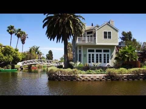 Venice Canal Historic District, Los Angeles California