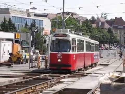 Straßenbahn Wien Trams in Vienna