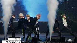 방탄소년단 BTS[4K직캠]쩔어 DOPE 논산@161222 Rock Music
