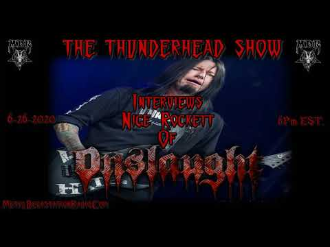 Exclusive Interview with Nige Rockett Of Onslaught On The Thunderhead Show