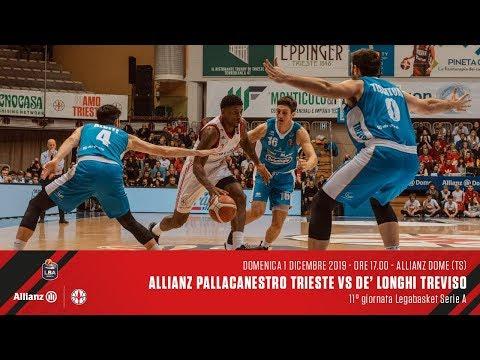 Allianz Pallacanestro Trieste Vs De' Longhi Treviso | LBA 11° Giornata