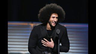 Colin Kaepernick recibe el Premio Legado MuhammadAli