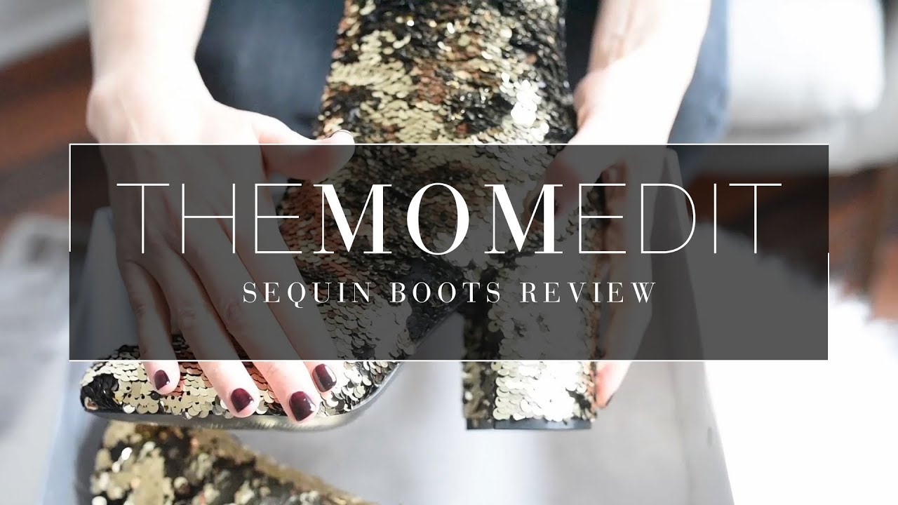 Holiday Style: The Best Sequin Boots???