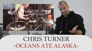 Gambar cover Drum Teacher Reacts to Chris Turner - Drummer of Oceans Ate Alaska