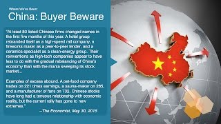 Balancing China's Slowing Economy & Global Aspirations