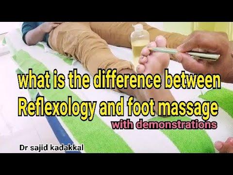 What is the difference between Reflexology and foot massage. ഫൂട്ട് മസ്സാജിലൂടെ ദഹനകുറവിന് പരിഹാരം.